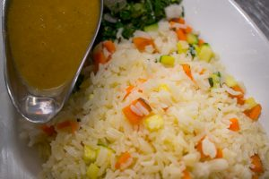 19 Degrees Vegetable Rice